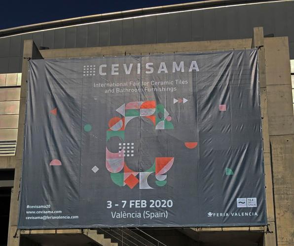 P1西班牙CEVISAMA磁磚展2019( PART1.公用空間&客廰篇)